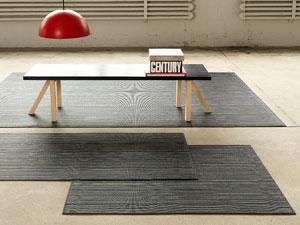 Chilewich teppich wasserabweisend Latexbeschichtung indoor