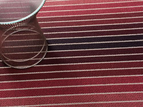fussmatte chilewich red stripes indoor outdoor