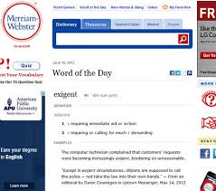 Merriam-Webster Dictinary
