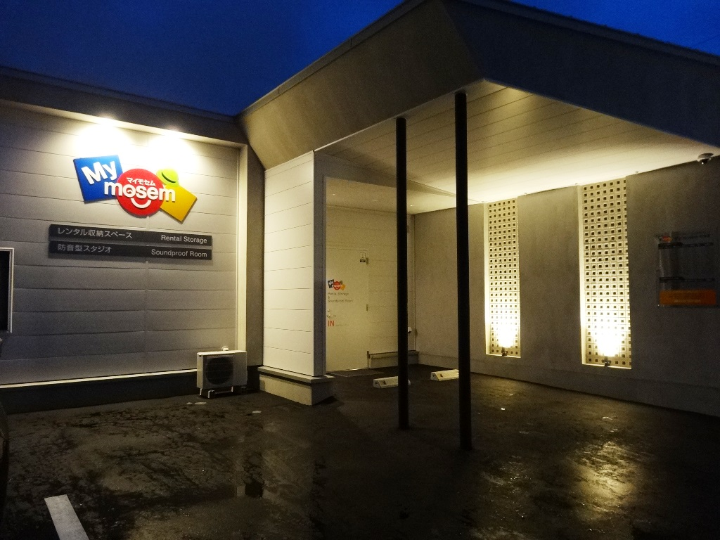 開業時 夜の店舗