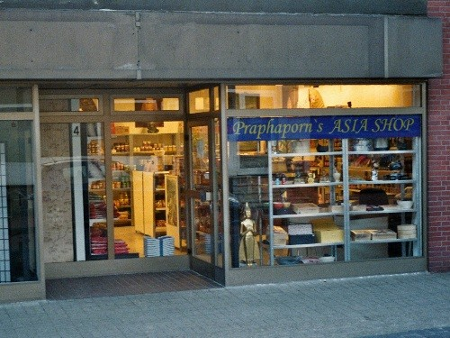 Foto vom Eingang ins Praphaporn´s Asia Shop