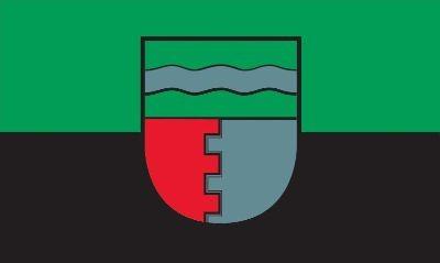 Die Fahne der Gemeinde Oberndorf