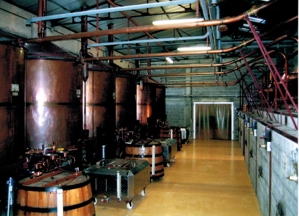 La distillerie Pautier à Veillard (BOURG-CHARENTE)