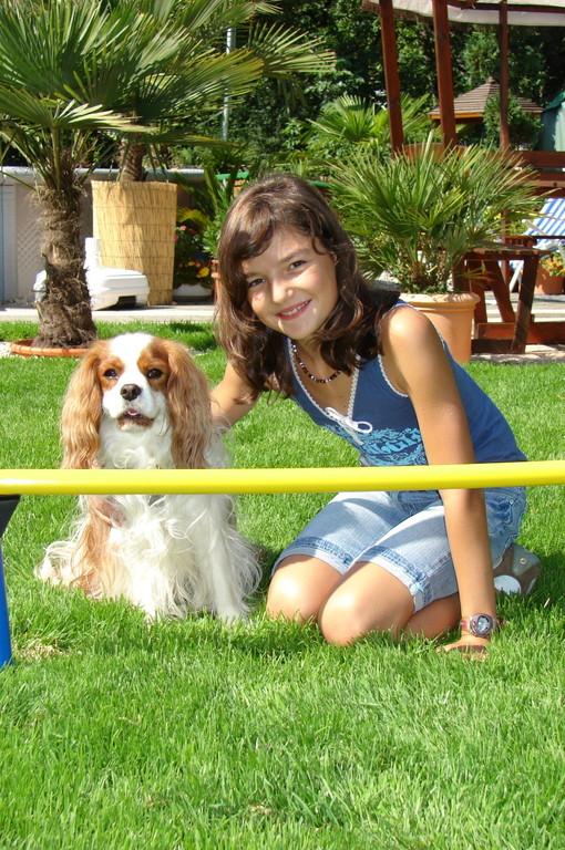 Charly und seine Trainerin ;-)