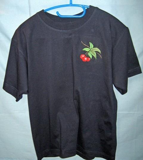 T-Shirt mit Kirschen