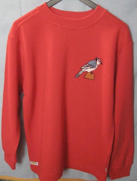 Pullover mit Vogel