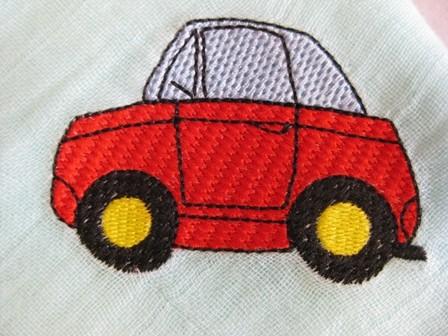 Auto auf Nuscheli
