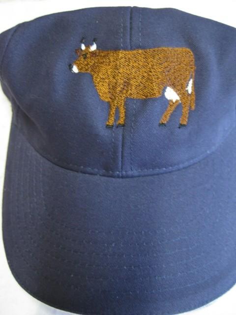 Cap mit Kuh