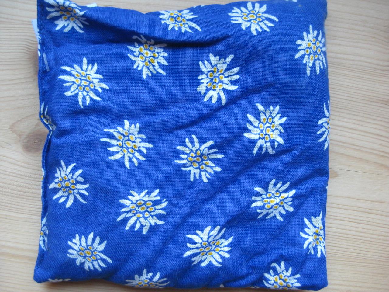 Traubenkernkissen Edelweiss ca. 13cm x 15cm Fr. 8.00