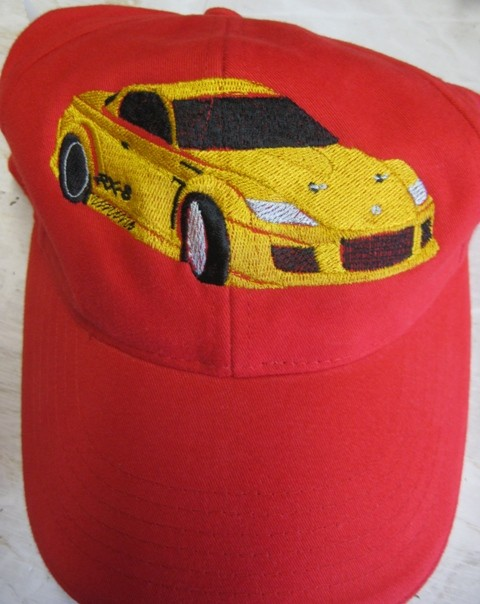 Cap mit Auto