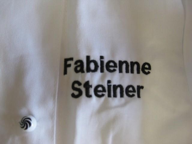 Namen auf Bluse