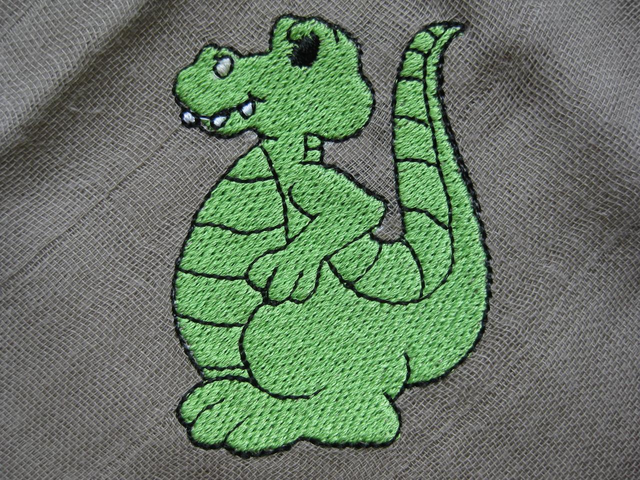 Dino auf Nuscheli