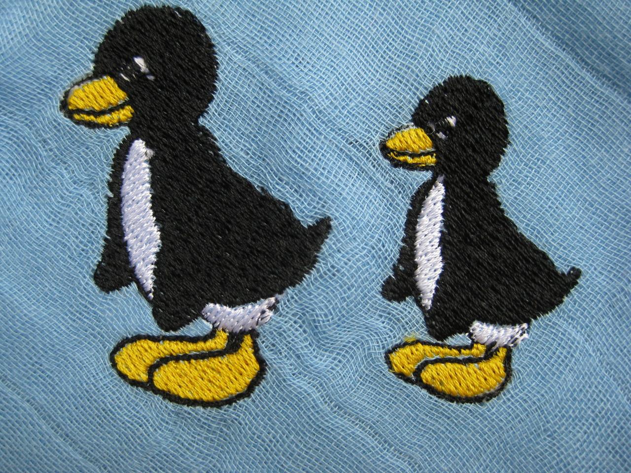 Pinguine auf Nuscheli