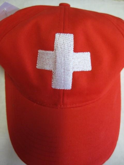 Cap mit Schweizer Kreuz