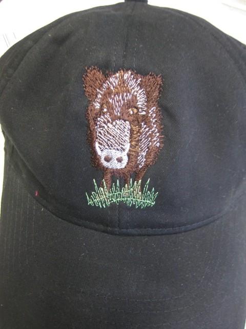 Cap mit Wildschwein