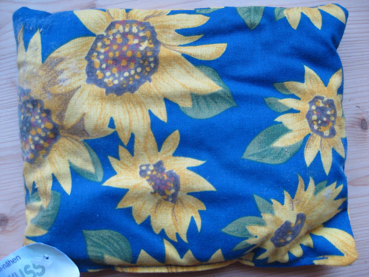 Traubenkernkissen Sonnenblumen ca. 13cm x 15cm Fr. 8.00
