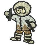 Eskimo mit Cinelle