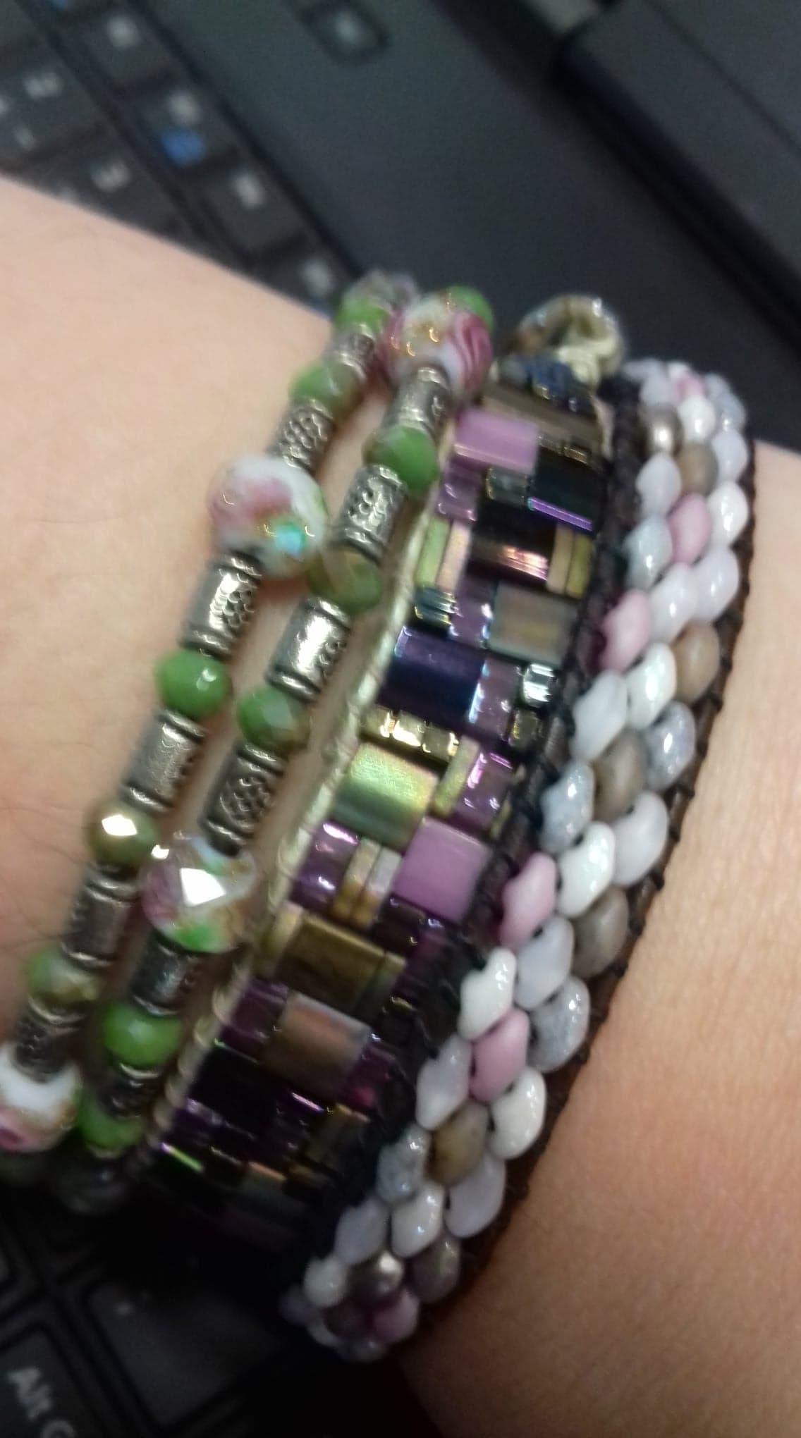 Bracelet Dragon, Memory Wire et Création personnelle!