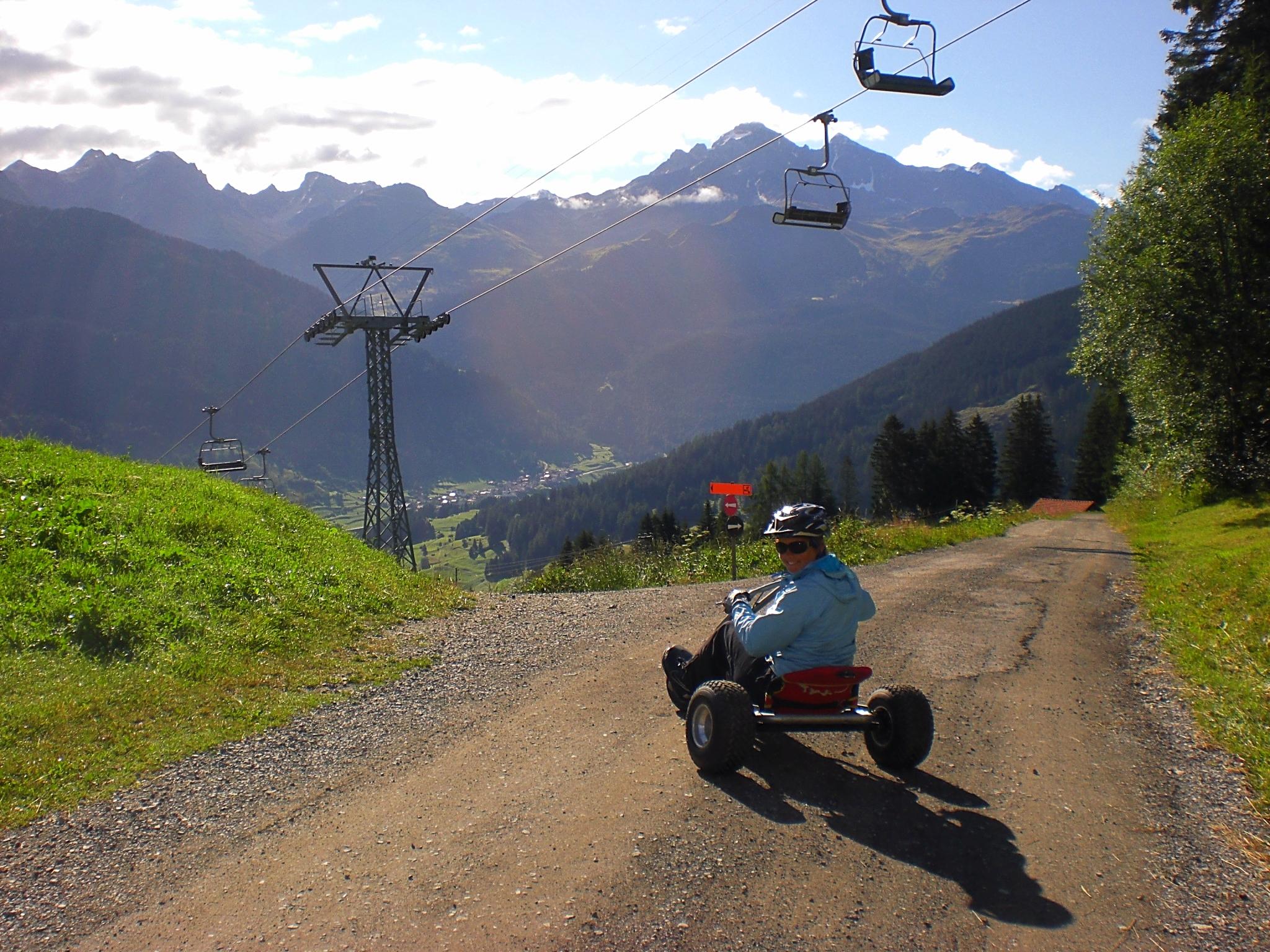 Mountaincart fahren