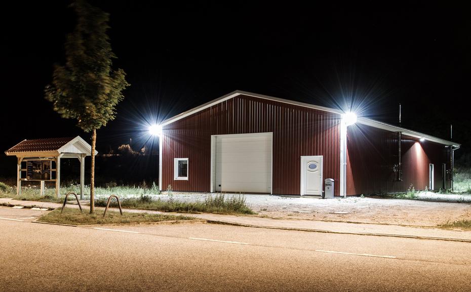 Berg Schwedenhaus Gewerbehalle in Eutin