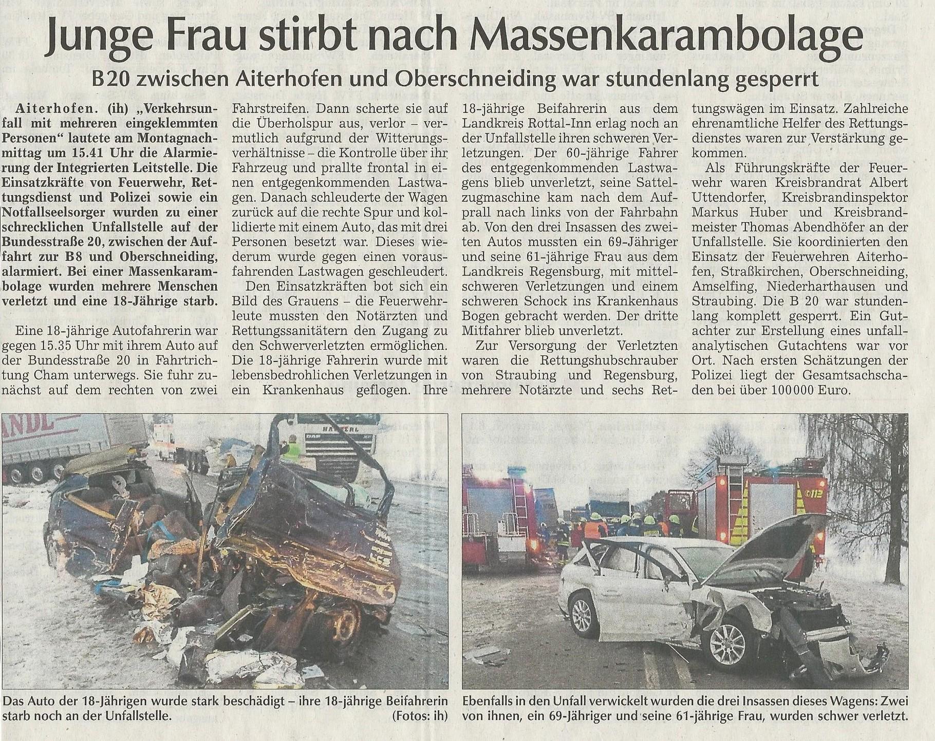 Beste Autounfallbeschreibung Zeitgenössisch - Schaltplan Serie ...
