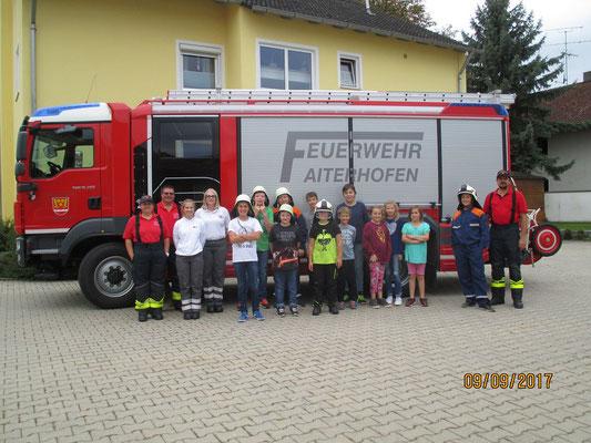 Blaulichttag FFW und BRK 2017