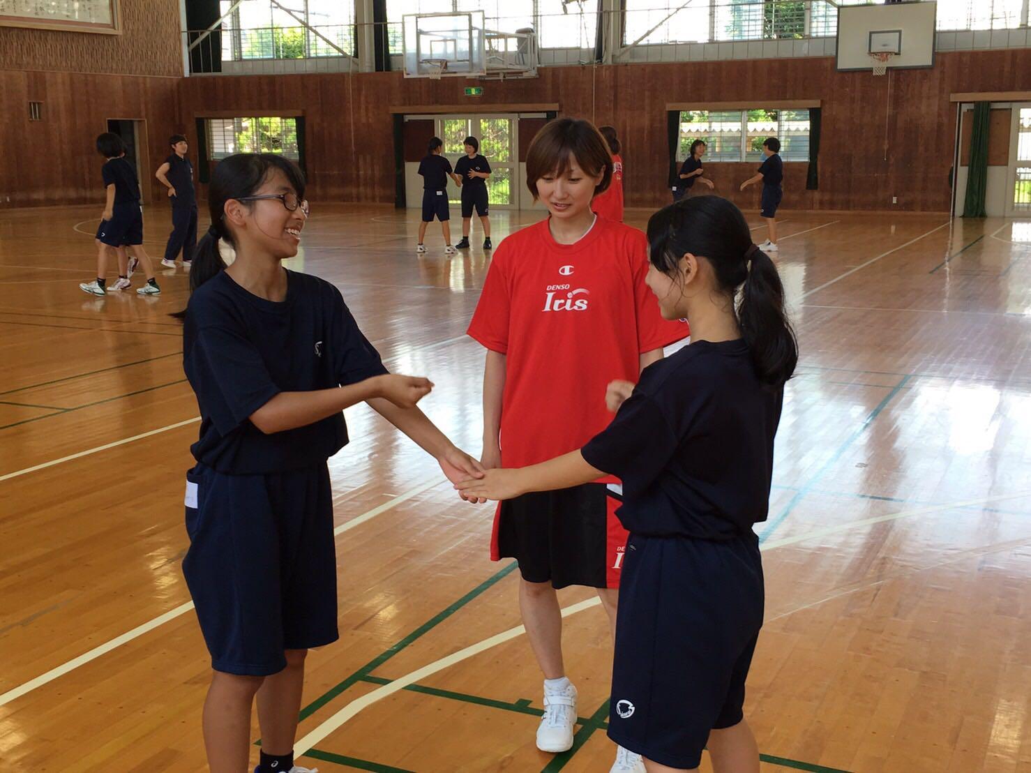 活動風景(安城市立桜井中学校)