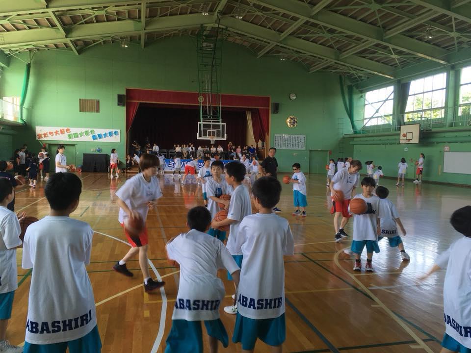 バスケットが好きなのがすごく感じられました(^-^)☆
