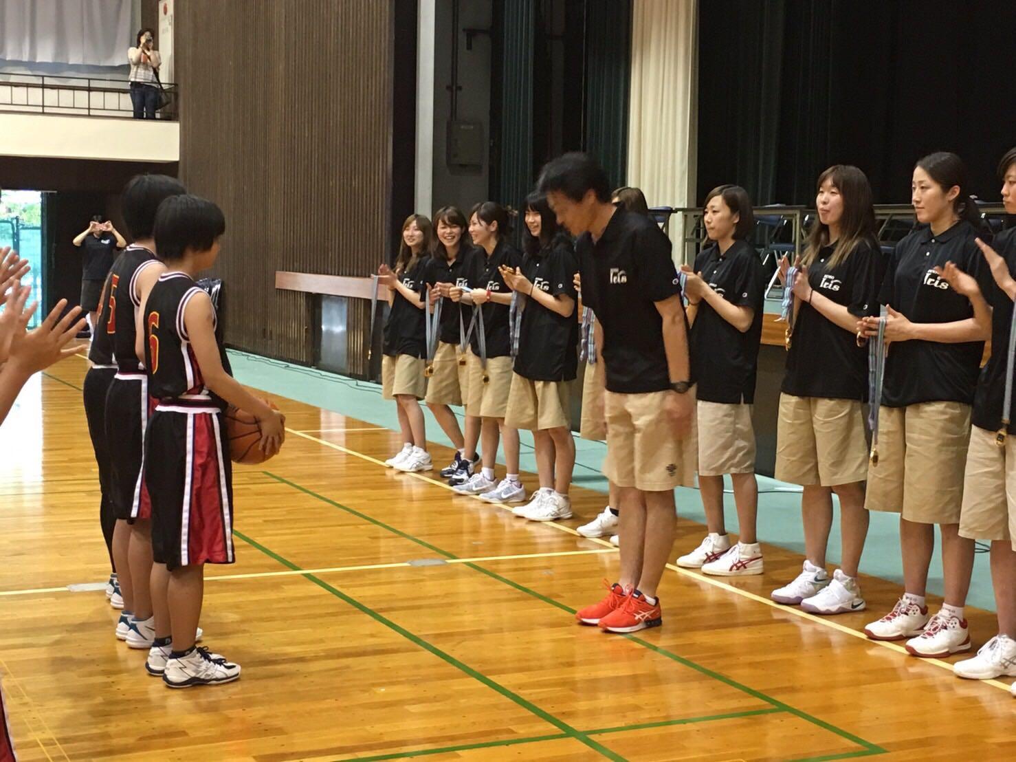 表彰式 優勝:刈谷市立雁が音中学校