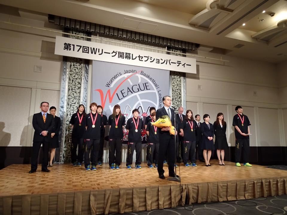 日本代表 内海ヘッドコーチ挨拶