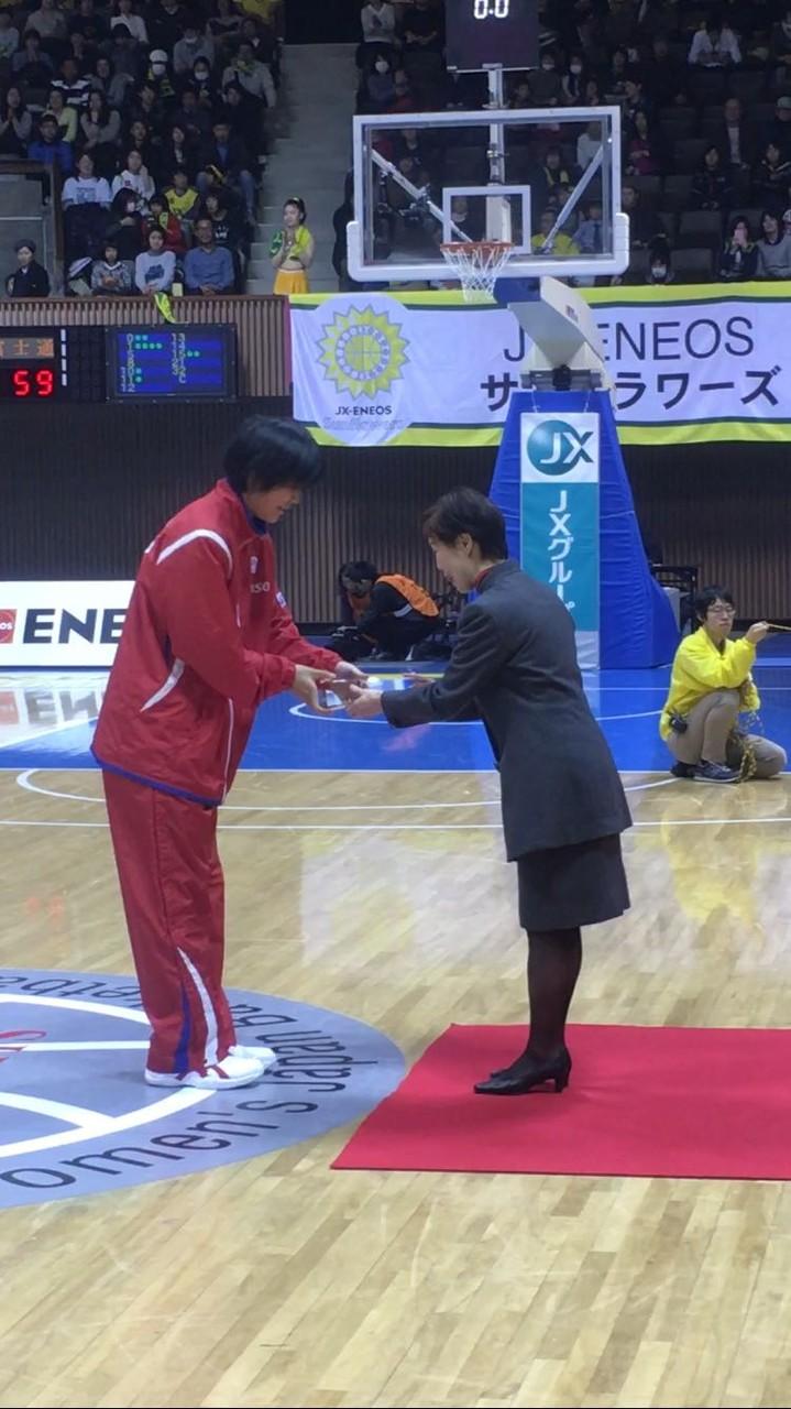 赤穂さくら選手 ルーキー・オブ・ザ・イヤー受賞