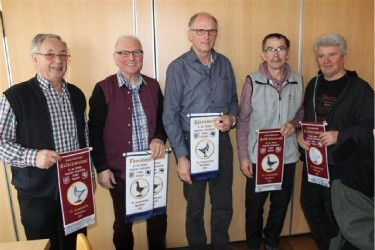 Die erfolgreichen Erringer der Bänder unserer Gruppe Stuttgart.