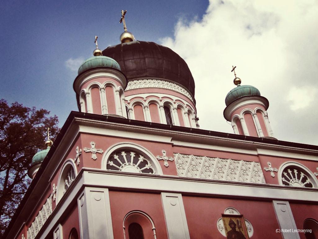 Alexander-Newski-Kapelle auf dem Kapellenberg.