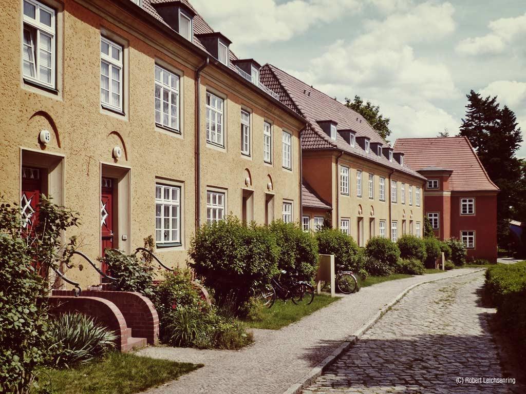 Einst durch sowjetische Truppen genutzte Wohnsiedlung.