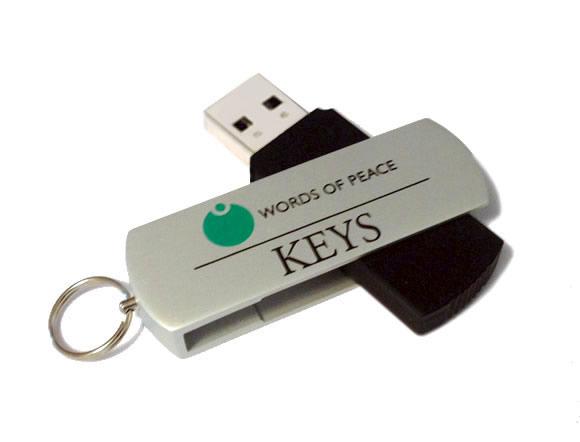 USB-Stick – nur Englisch