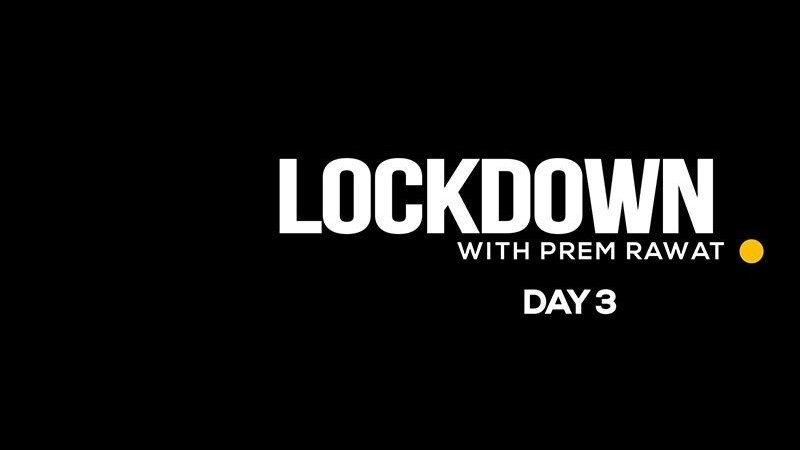 Lockdown Day 3