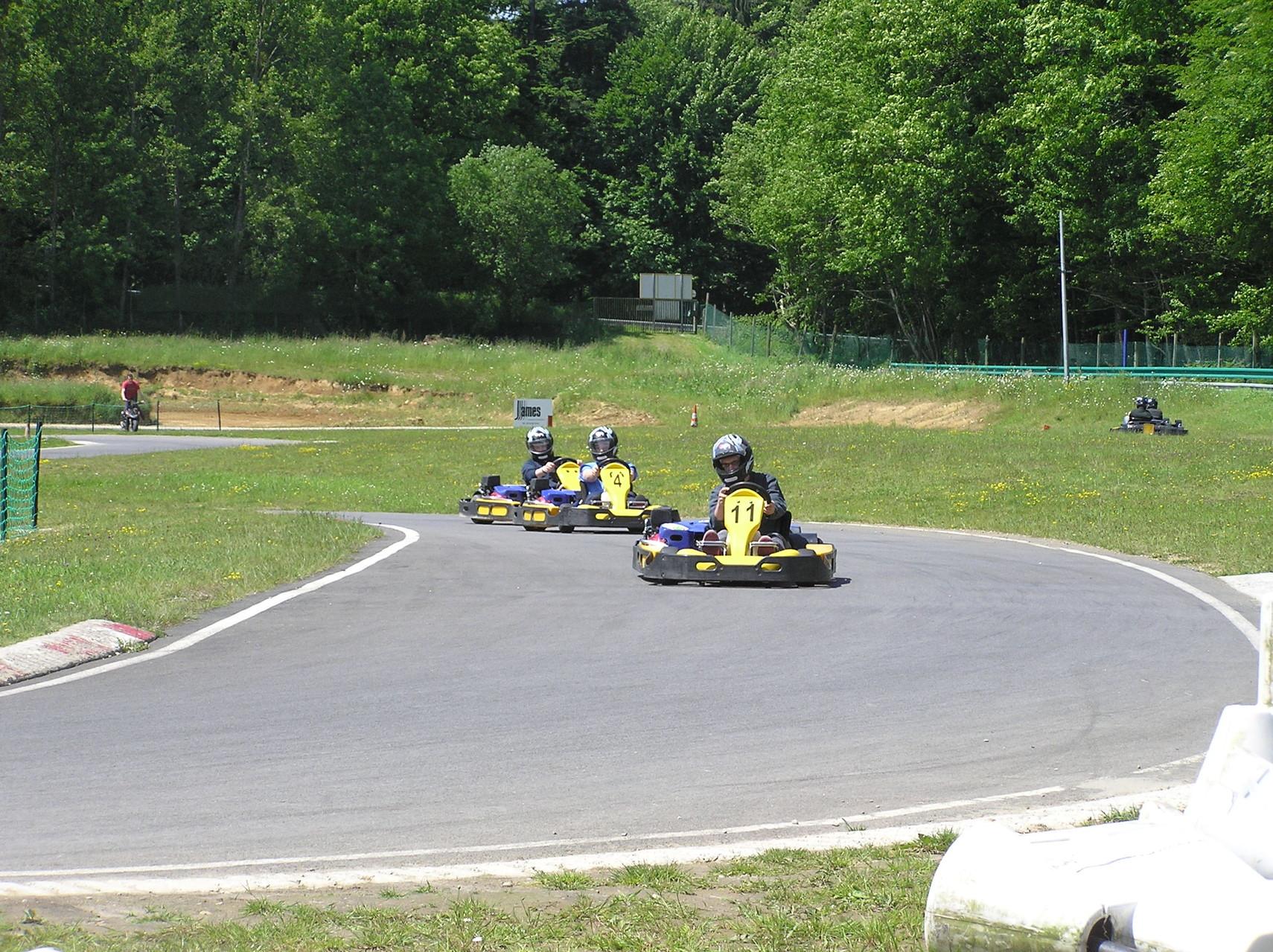 Sortie karting