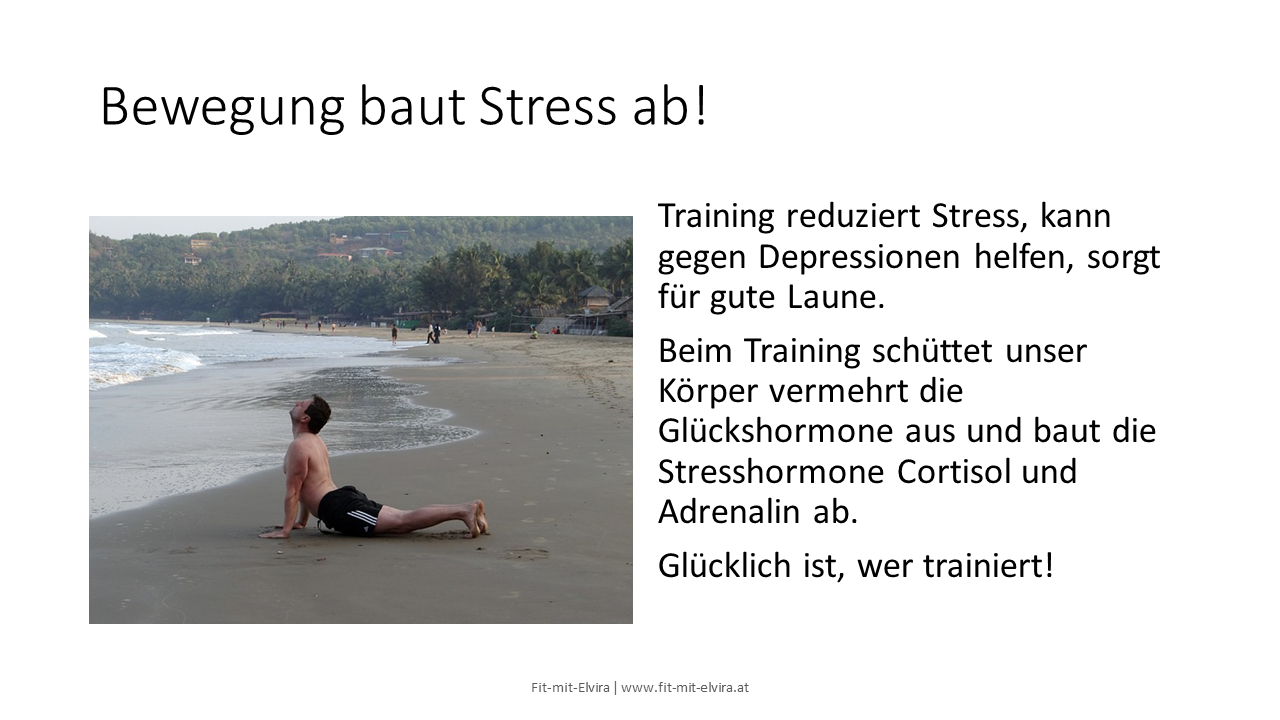 Training baut Stress ab