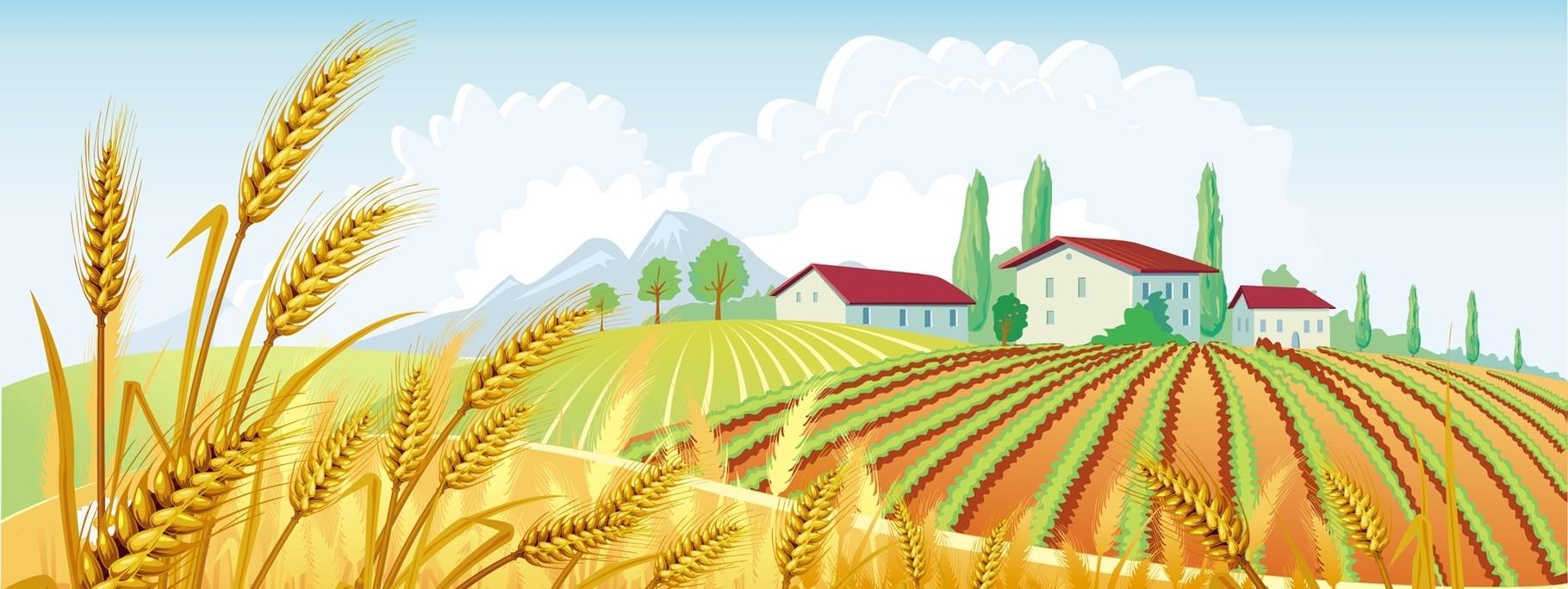пририсовываем сельское хозяйство картинка рисунок импульсными