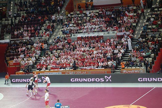 Katar 2015 Handball-WM Deutschland Polen