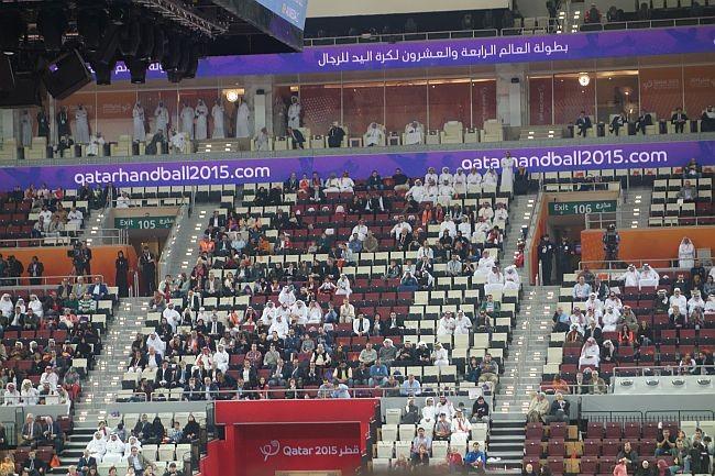 Handball-WM, Katar 2014, Scheich Tamim bin Hamad Al Thani
