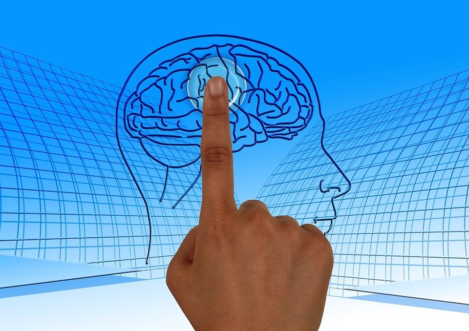 dieses Auge sieht auch in unser Gehirn und kennt unsere Gedanken