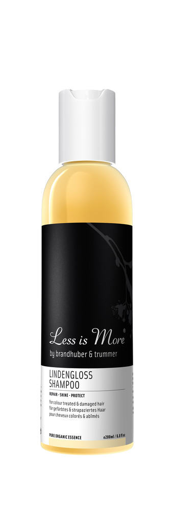 less is more lindengloss shampoo naturkosmetik parfum pflegeprodukte. Black Bedroom Furniture Sets. Home Design Ideas