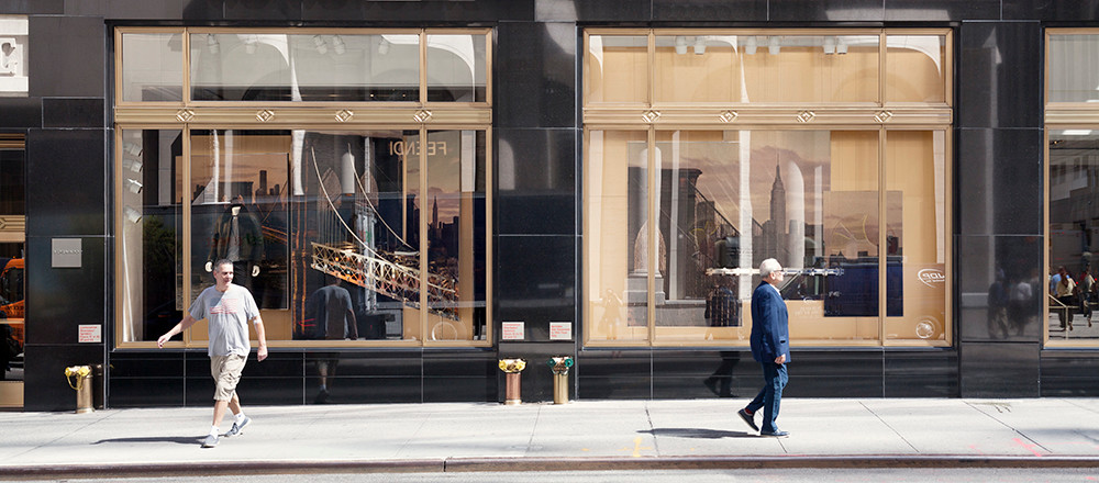 Madison Avenue 02, 2016, Color Print, 86x198cm