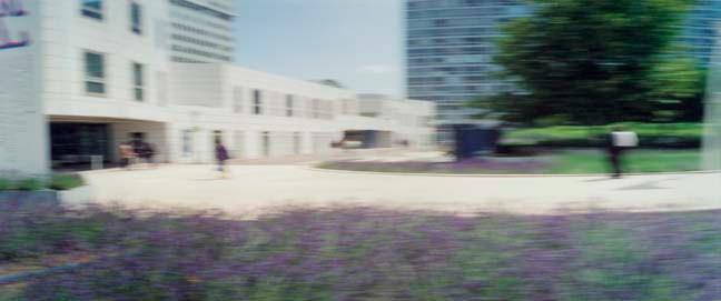 Jardin Atlantique 2, 2002, Color Print, 84x198cm