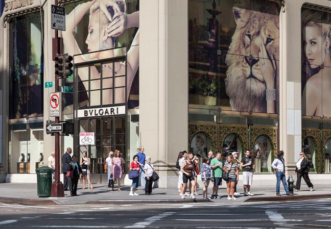 5th Avenue 7, 2014, Color Print, 90 x 130 cm