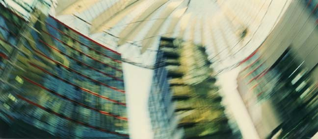 Potsdamer Platz 1, 2001, Color Print, 84 x 198 cm