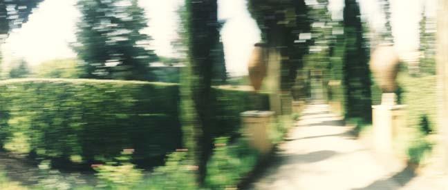 Il Giardino 4, 2000, Color Print, 84 x 198 cm