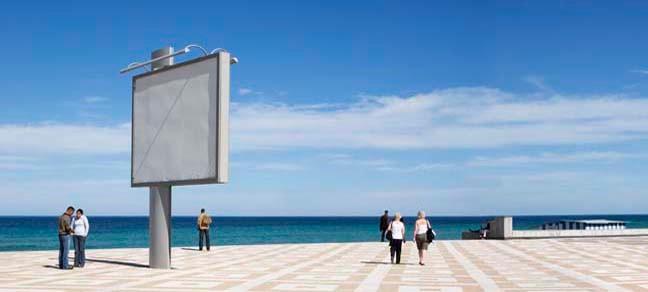 La Corniche 1, 2009, Color Print, 86 x 198 cm