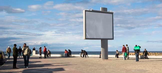 La Corniche 3, 2009, Color Print, 86 x 198 cm